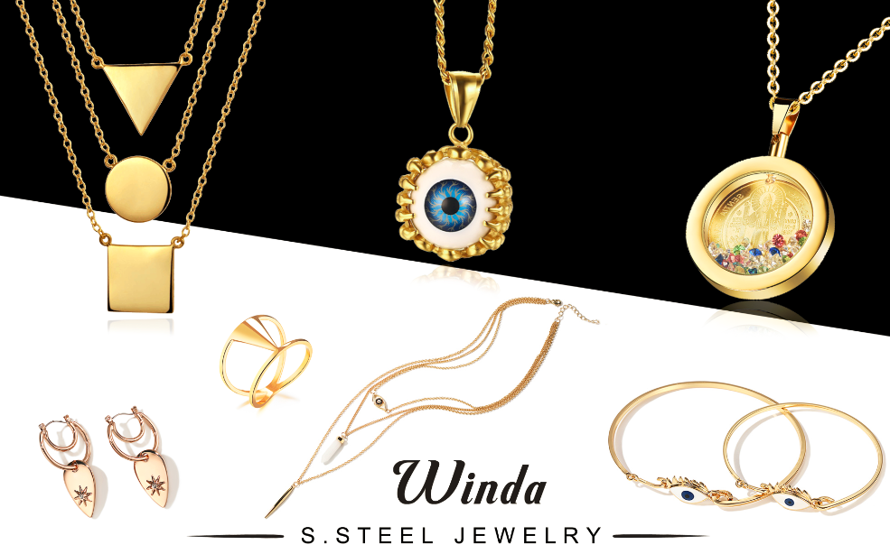 Why choose winda jewelry the market leader of stainless steel we have our after sales services 24h 7d aloadofball Images
